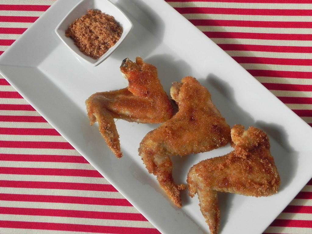 """""""Sweet wings"""" (alitas de pollo con azúcar y canela)"""