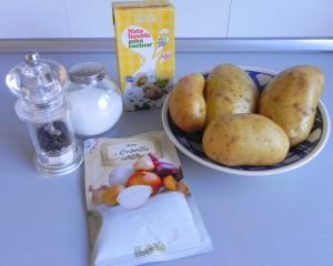 Ingredientes gratinado de patatas Cocotte