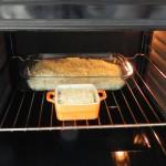 Lo metemos al horno a 180º hasta que se dore la superficie