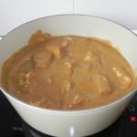 Lo dejáis cocinar junto otros 10 ó 15 minutos a fuego muy lento