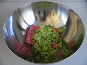 Añadimos las verduras