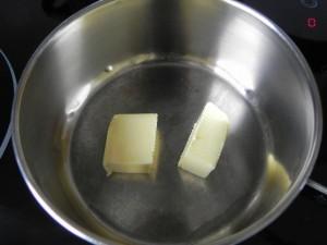 Ponemos a derretir la mantequilla