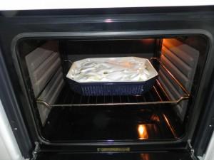 Y lo metemos al horno