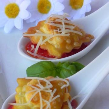 Crunchy ravioli