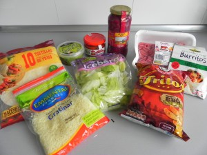 Ingredientes Taco Salad