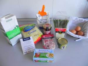 Ingredientes Plum Cake de primavera