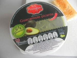 Guacamole picante de Carrefour