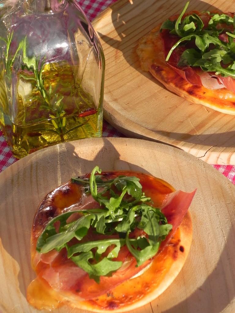 Pizzetas serranas