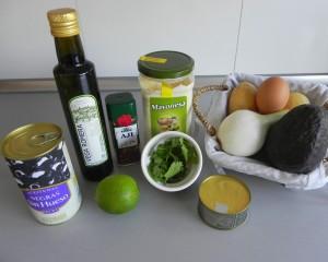 Ingredientes Causa Limena