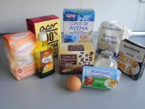 Ingredientes Cookes