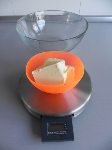 Pesamos la mantequilla