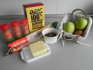 Ingredientes Trenza de Manzana