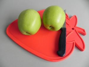 Pelamos las manzanas