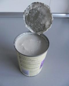 leche de coco (ojo, es así)