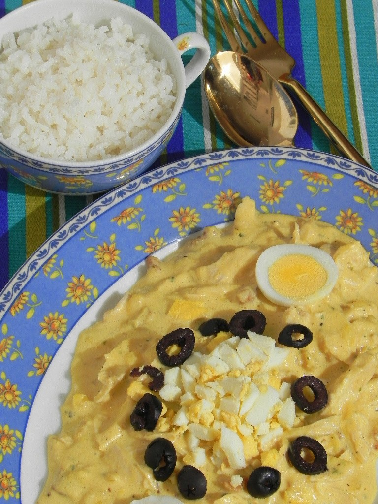 Ají de gallina peruano
