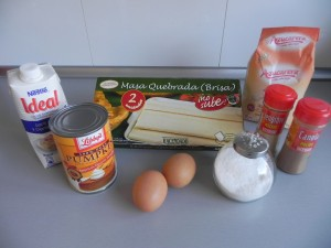 Ingredientes Pumpkin Pie