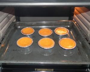 Y horneamos hasta que veamos que están hechas