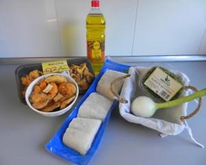 Ingredientes Bacalao confitado con setas de temporada