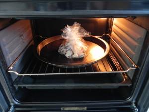 Lo metemos al horno