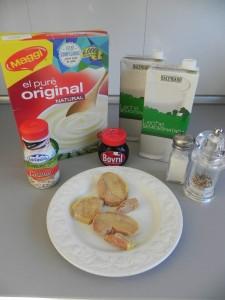Ingredientes Crema de foie gras