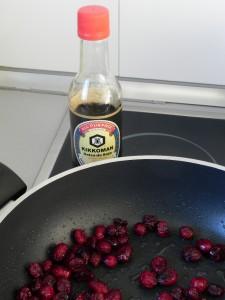 Añadimos las 4 cucharadas de soja
