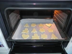 Las metemos al horno