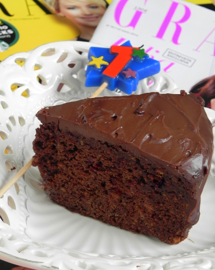 Tarta Chocolatísima (¡con mucha Grazia!)