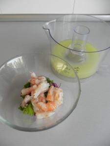 Añadimos el zumo de limas y limón