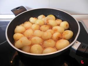 Removéis bien y dejáis cocinar