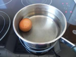 Cocemos el huevo