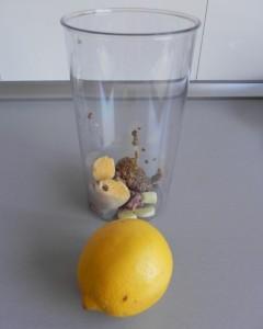 El chorrito de zumo de limón