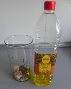 El chorrito de aceite de oliva
