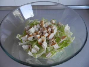 Y lo añadimos a la ensalada