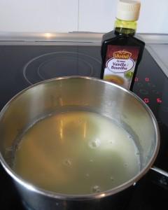 Añadimos la esencia de vainilla