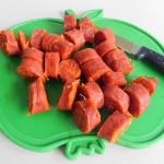 Chorizo cortado