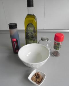 Preparamos la vinagreta de mostaza