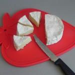 Cortamos el queso en 8 triangulitos