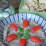 Vinete (hummus de berenjena ahumada)