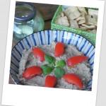 Vienete (hummus de berenjena ahumada, plato rumano)