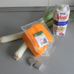 Ingredientes crema de calabaza con roquefort  nueces