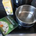 Miwentras hacemos la salsa de roquefort