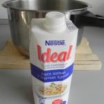 Añadimos los 400 ml. de leche evaporada IDEAL
