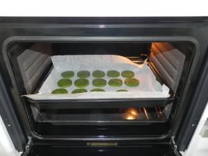 Las metemos al horno durante 20 minutos a 170º