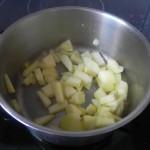 Rehogamos las manzanas sobrantes