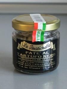 Pasta de trufa negra