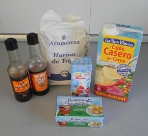 Ingredientes salsa albóndigas nórdicas caseras