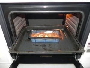 Lo metemos al horno durante 50 minutos aprx, a 180º