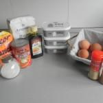 Ingredientes Cheescake de calabaza