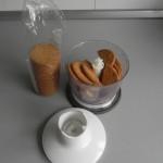 Trituramos las galletas