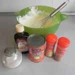 Y ña calabaza, la sal, la vainilla y las especias